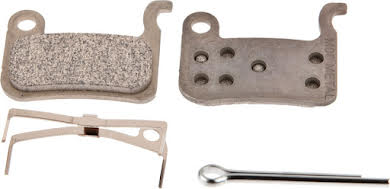 Shimano M06 Metal Disc Brake Pads & Spring alternate image 2