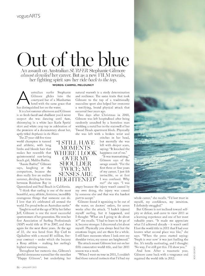 Vogue Australia- screenshot