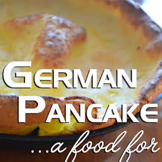 German Pancake.