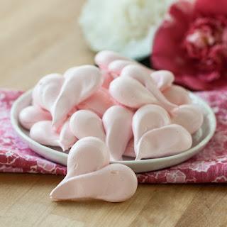 Strawberry Meringue Hearts.