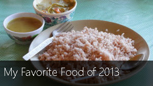 My Favorite Food of 2013