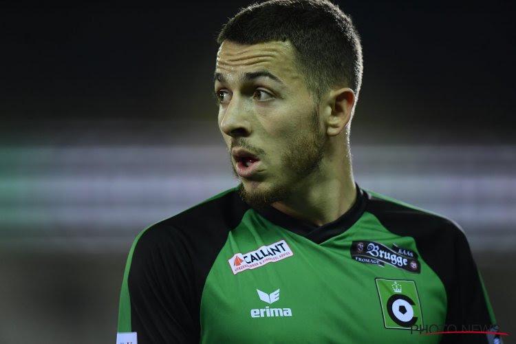 Kylian Hazard écarté du noyau A au Cercle de Bruges ?