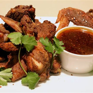 Sweet and Spicy Thai Chicken Wings.