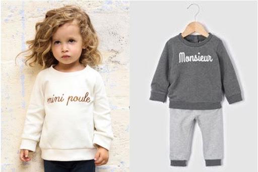 Tendance mode enfant sweater fille