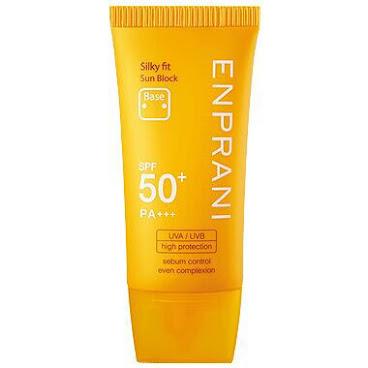 韓國高級品牌 Enprani 絲滑蜜桃防曬乳 (SPF50+ PA+++)