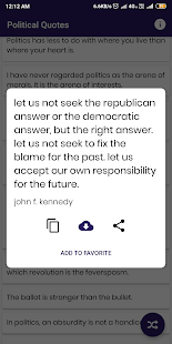 Download Political Quotes and Sayings For PC Windows and Mac apk screenshot 3