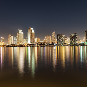 CITY TOWER by Emerson Cabaling - Landscapes Starscapes