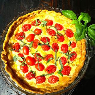 Cherry Tomato Pie Recipes