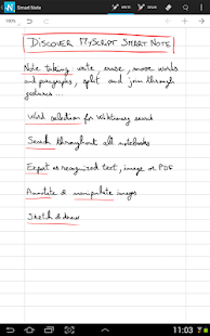MyScript Smart Note Screenshot 10