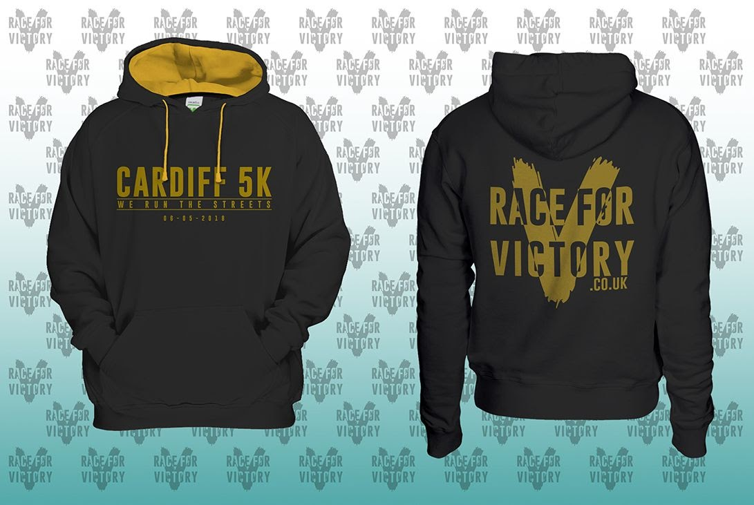 Cardiff 5K - Race For Victory Hoodie