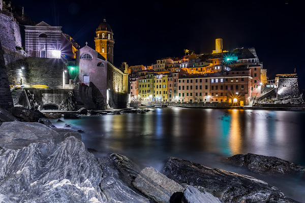 Vernazza by night di sergio_di