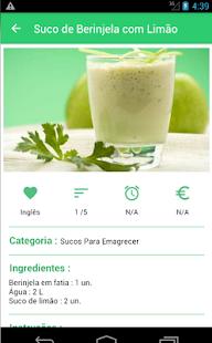 Sucos Para Emagrecer - náhled