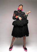 Sho Madjozi is a pioneering Tsonga rapper with a unique fashion style. / Supplied