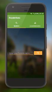 RoyaleStats for Fortnite Battle Royale - náhled