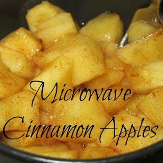 Microwave Cinnamon Apples – A Tasty Snack Kids Love!.