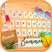 Relaxing Summer Holiday Keyboard Theme