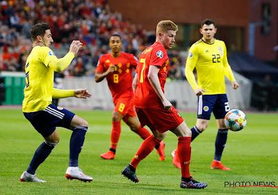 Behouden de Rode Duivels, nu wél met de sterkste elf, hun perfect rapport tegen Schotland?
