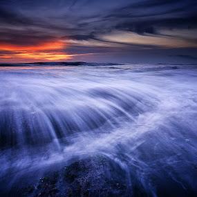 The Blue Riverie by Eggy Sayoga - Landscapes Beaches ( bali, waterscape, seascape, beach, landscape, sun )
