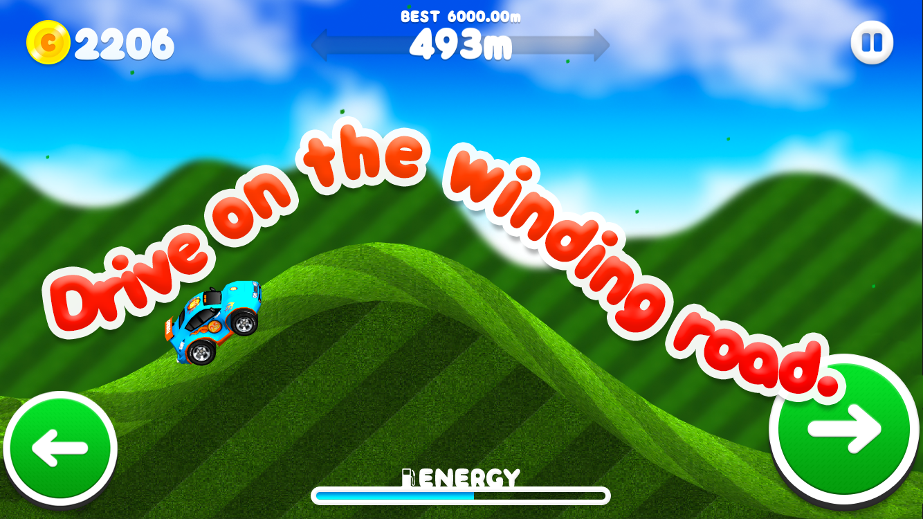Wiggly racing- screenshot