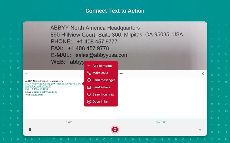 TextGrabber – image to text: OCR & translate photo Screenshot 8