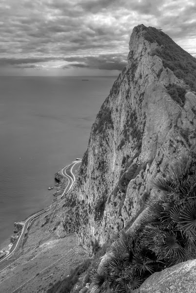 Photo: 'The Rock'  View of the entrance to Mediterranean from the Rock of Gibraltar. Taken a few weeks back. An image for +#HDRSunday , #hdrsunday  curated by +lane langmade  and +Brian Spencer