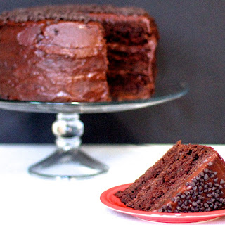 Double the Chocolate Cake