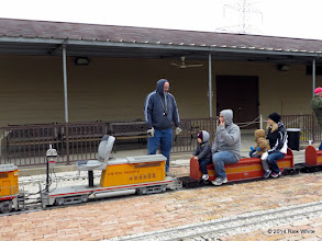 Photo: Andy Isles and an empty station at 12:23 PM    HALS Public Run Day 2014-1115 RPW