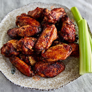 Lemon Pepper Wings with Dark Soy and Honey.