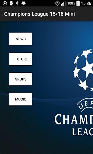 Champions League 15 16 Mini