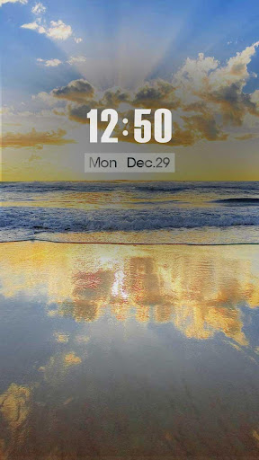 ZUI Locker Theme - Morning