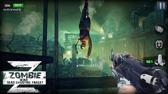 Zombie War Z : Hero Survival Rules Screenshot