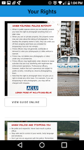 ACLU Blue- screenshot thumbnail