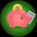 Deposit calculator icon