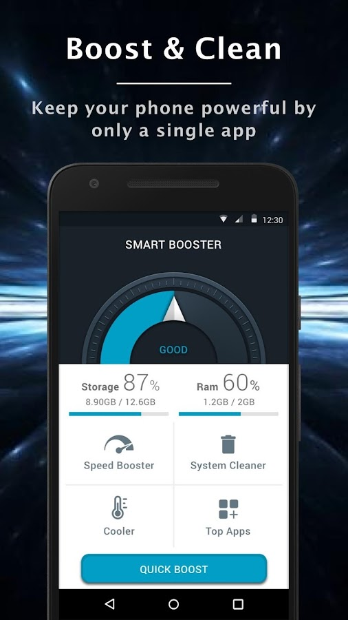 Smart Cleaner and Booster Pro- screenshot