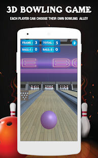 3D Bowling Game - náhled