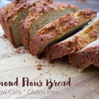 Almond Flour Bread: Low Carb & Gluten Free.