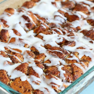 Easy Homemade Cinnamon Roll French Toast Casserole