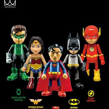 HeroCross Metal Figure - DC Set (5pcs)
