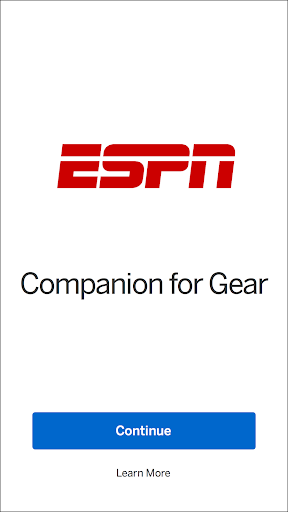 ESPN Companion for Gear Screenshot