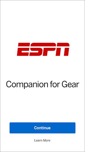 ESPN Companion for Gear screenshot