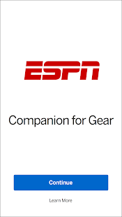 ESPN Companion for Gear- screenshot thumbnail