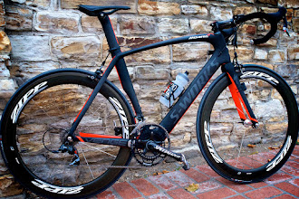Photo: Rode the McLaren Venge today from Specialized's Private Reserve. There are currently 8 of these  preproduction bikes in the world. They sell for 15k retail. Worth it? Indeed.