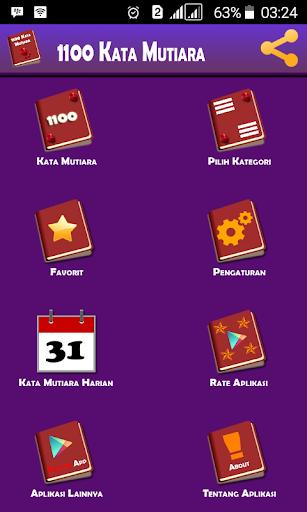 1100 Kata Mutiara 1.8.6 screenshots 2