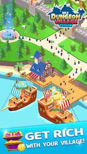 Idle Dungeon Village Tycoon – Adventurer Village  Apk Download For Android and Iphone 8