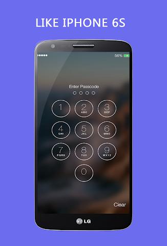 android Keypad Lock Screen Keypad Lock Screenshot 1