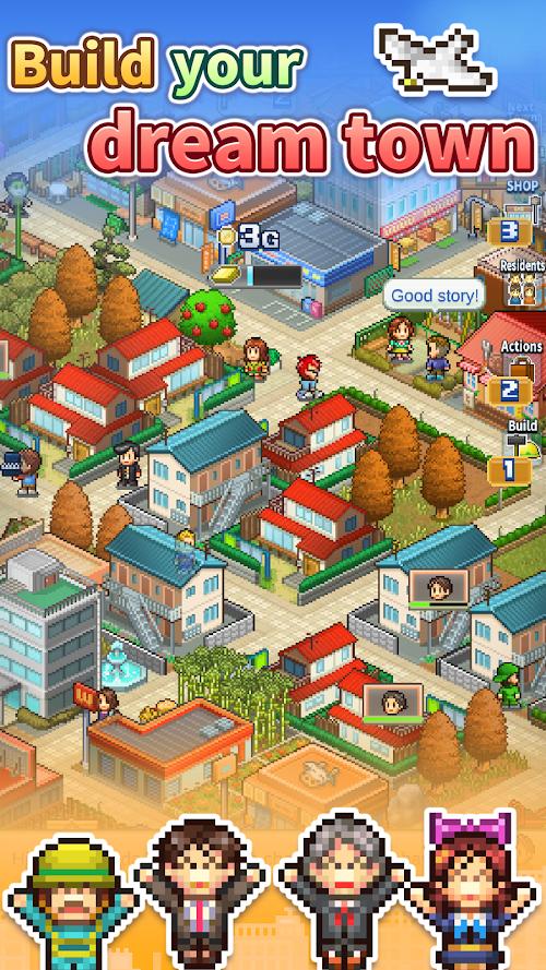 Screenshot 1 Dream Town Story 1.6.6 APK MOD