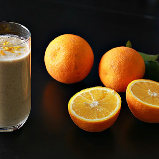 Orange Turmeric Oatmeal Smoothie