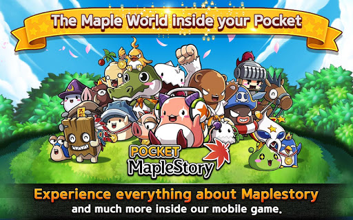 Pocket MapleStory game (apk) free download for Android/PC/Windows screenshot