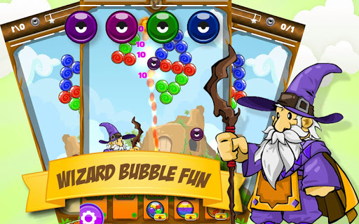 Bubble Shooter Wizard Deluxe