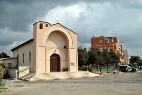 Ostia  Chiesa dei Pescatori di pizia1966
